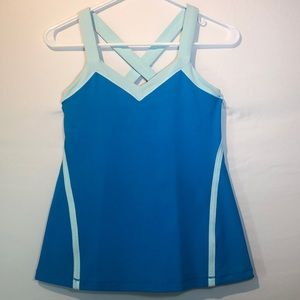 Lululemon Run: Mile A Minute Tank aquamarine